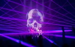 ADE 2012 ALDA Events -  Sunnery James & Ryan Marciano - laserdream- laser - huren